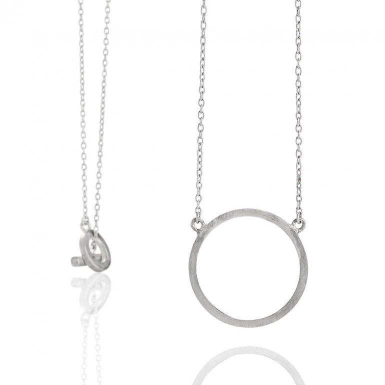 Anette Wille: Cosmos Halskæde i sølv  EV677